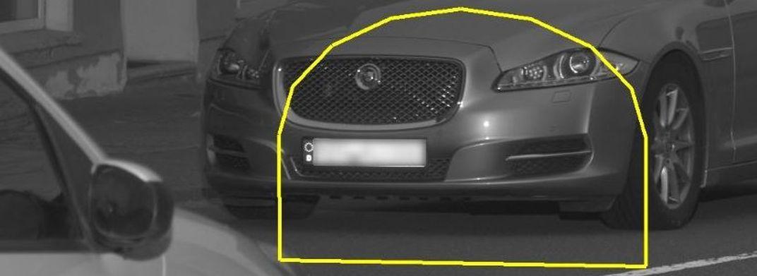 TraffiStar S 350: Im Auswerterahmen darf kein zweites Fahrzeug sein