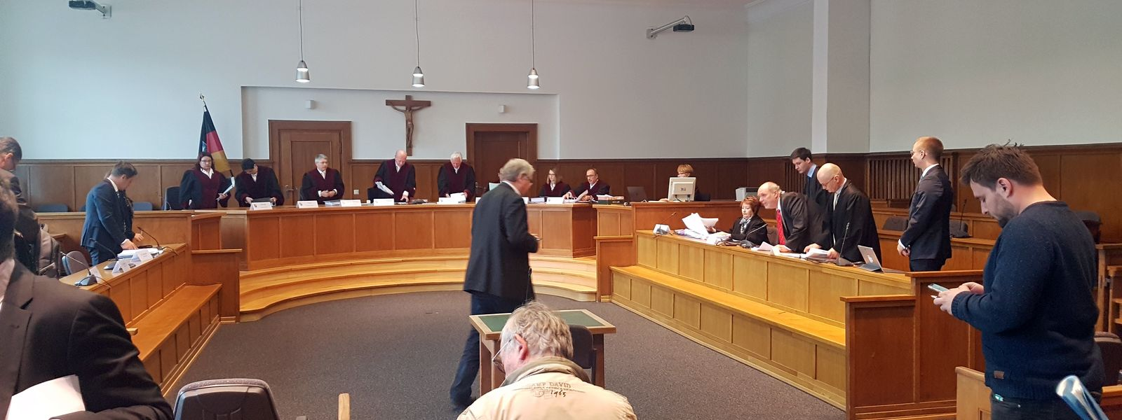 Verfassungsgerichtshof des Saarlandes verhandelte über Nachprüfbarkeit von Geschwindigkeitsmessungen