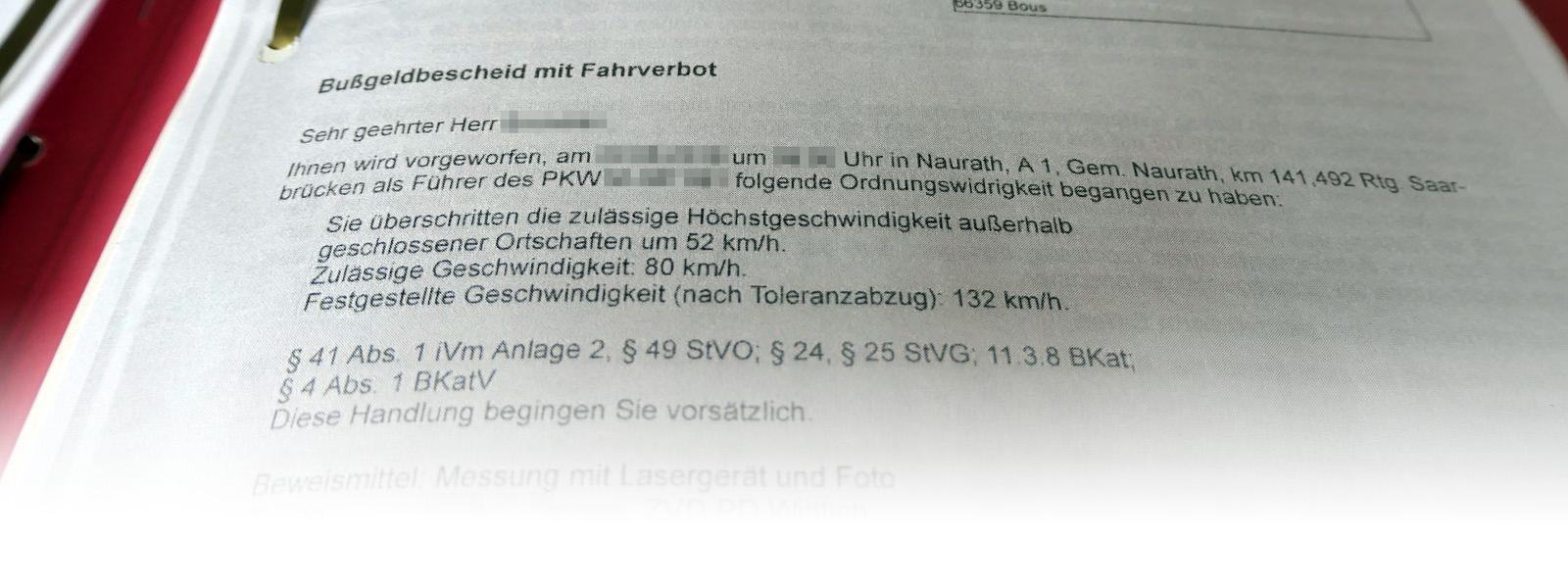 Rheinland-Pfalz: Alle Bußgeldbescheide der Zentralen Bußgeldstelle unwirksam?