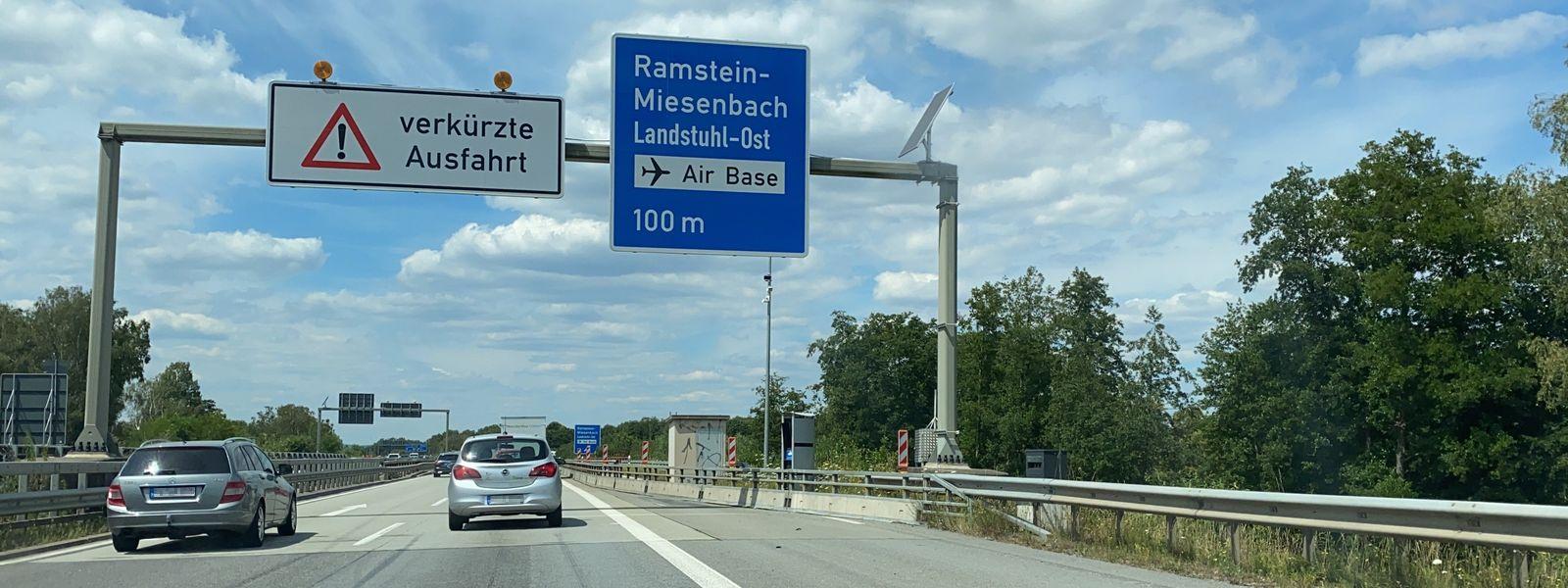 Ramstein-Miesenbach, BAB 6, km 633,280: Messstelle mit Verteidigungspotenzial